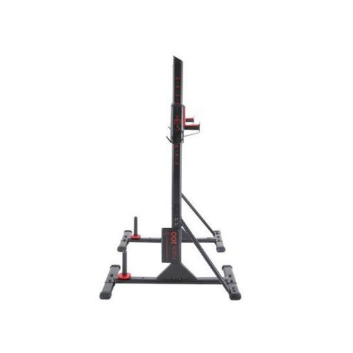 weight training bar rack