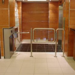 Single & Double Waist Height Turnstiles 1