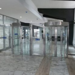 turnstiles glass full height 1