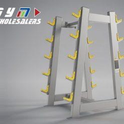 LifeTrac Platinum Series Barbell Rack 10 Pairs