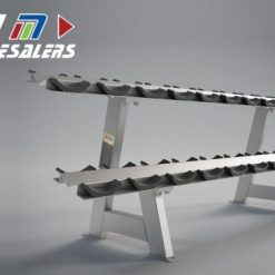 LifeTrac Platinum Series Dumbbell Rack Double Level