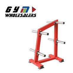 LifeTrac Solid Series Deluxe Weight Plate Tree