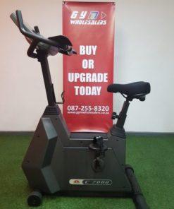 Johnson C7000 Upright Bike