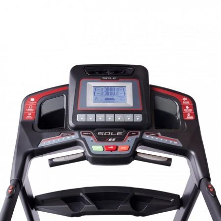 Sole-Fitness-F65-Home-Treadmill-Console
