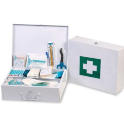 First Aid Kit In Metal Box x