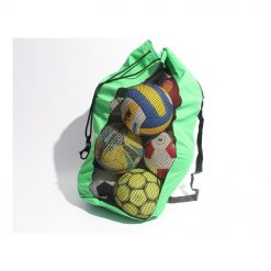 RS Nylon Mesh Ball Carrier Bag Assorted Colours