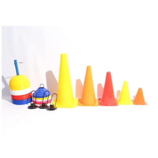 RS Soccer cones and Metal Holder
