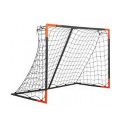 classic football goal m grey and orange