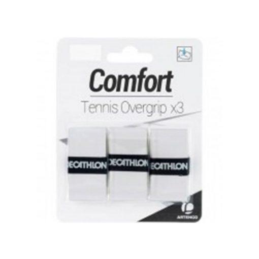 comfort tennis overgrip pack white