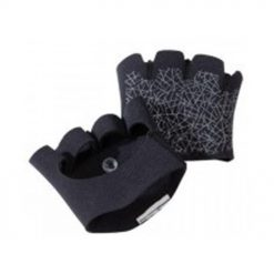 grip pad training bodybuilding gloves black
