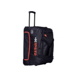 hardcase roller team sports bag litres black orange