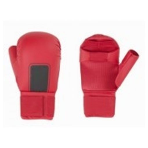 karate gloves red