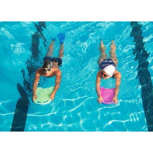 large swimming kickboard pink blue