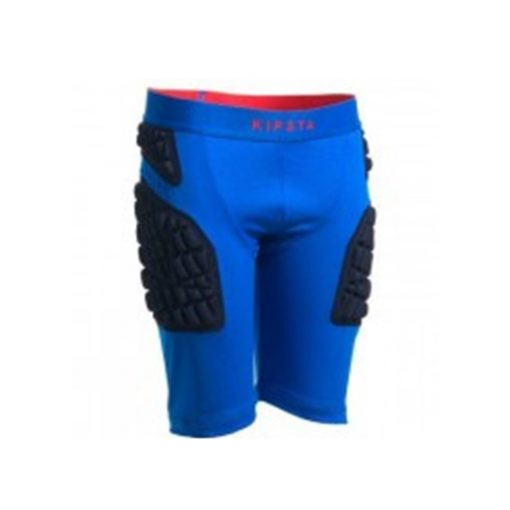 protective kids rugby undershorts blue