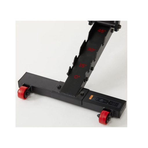 reinforced flat inclined weights bench