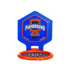 the hoop playground kids adult basketball basket blue orangetransportable